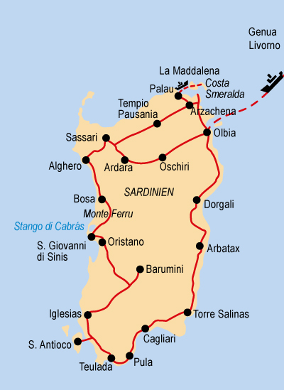 Mittelmeer Karte Inseln.Insel Sardinien Juwel Im Mittelmeer 2021 Hotelbus Reisen